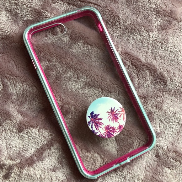 info for f3e8c 2753d iPhone 7 Plus Lifeproof SLAM Case with PopSocket